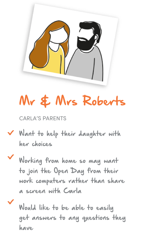 mr and mrs Roberts' reasons to chooses BGU