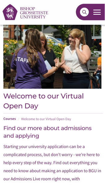 openday screen1